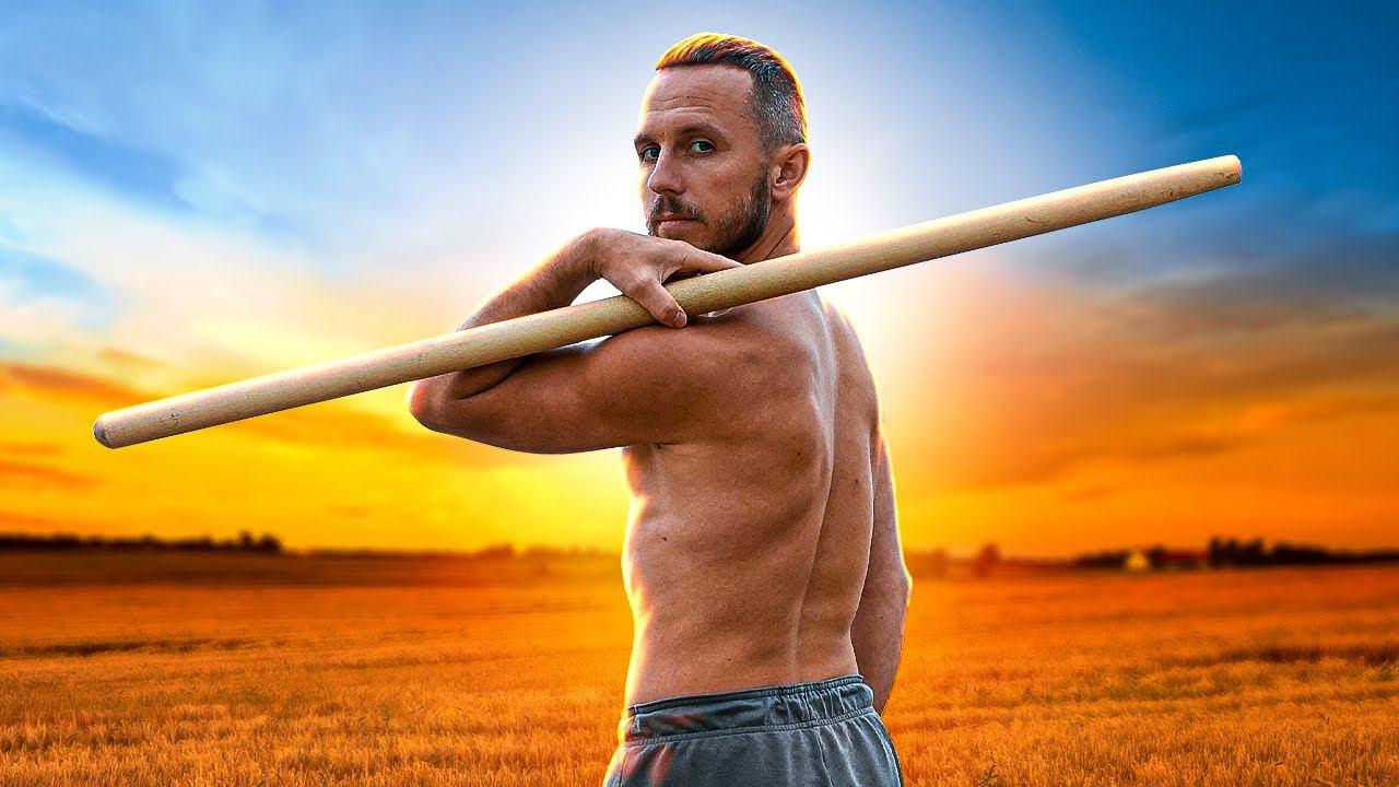 Комплекс упражнений с палкой для всего тела оздоровительной методики