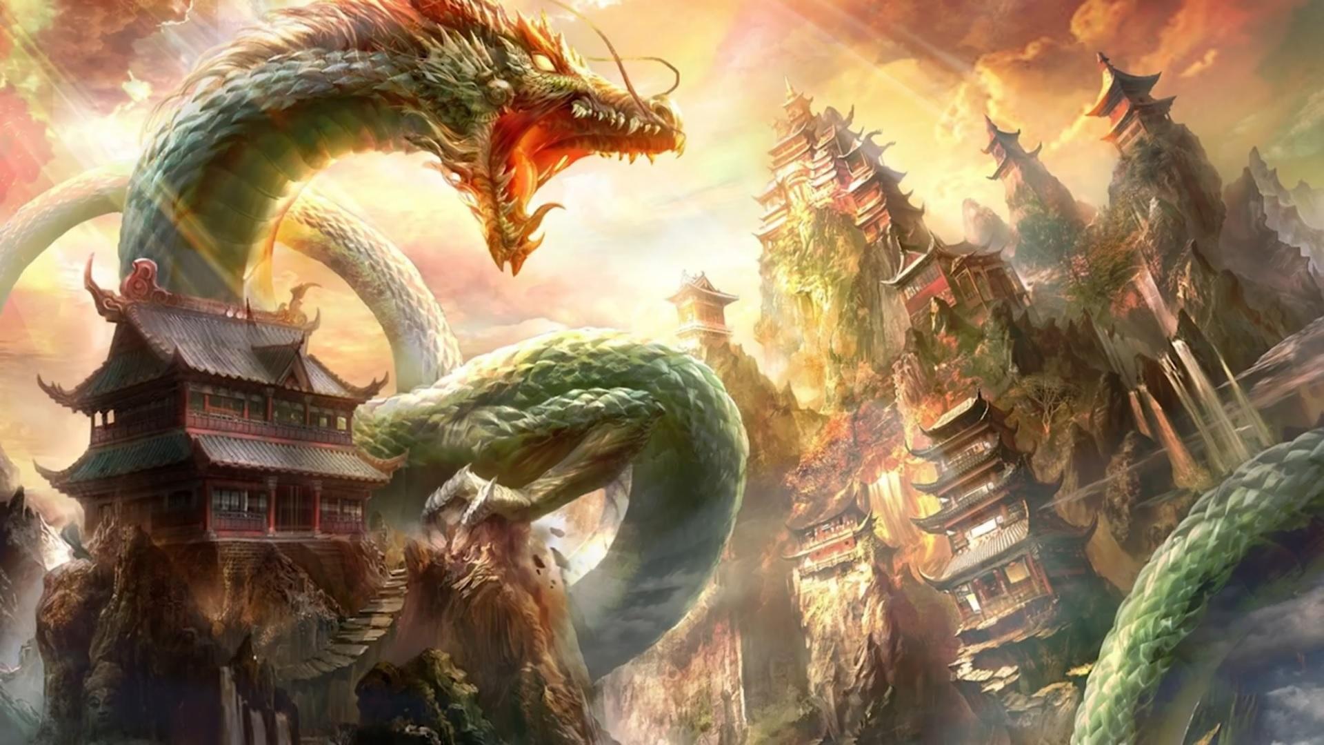 Exploring Mythology: Dragons (Изучение мифологии: драконы)