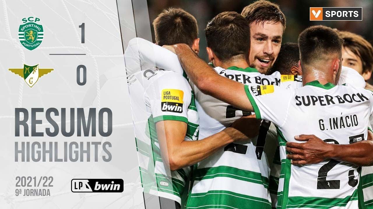 Highlights: Sporting 1-0 Moreirense (Liga 21/22 #9)