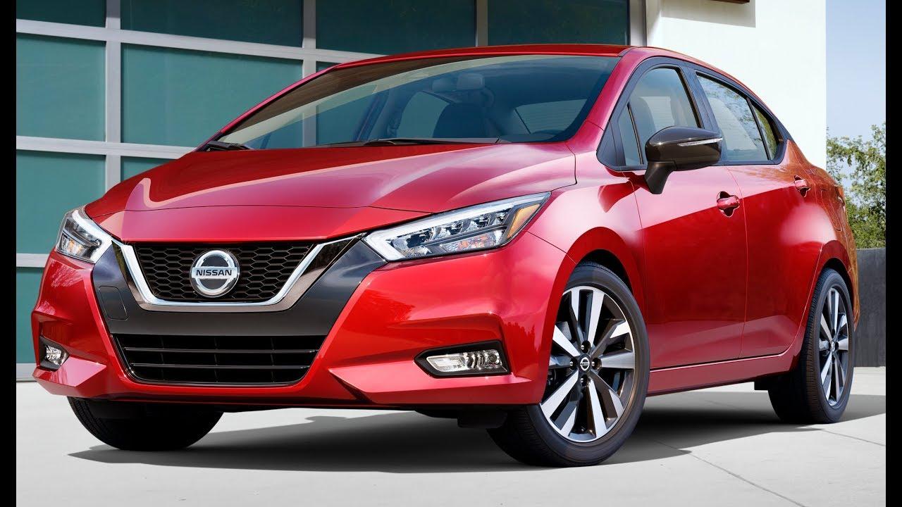 Nissan Versa 2020 экстерьер и интерьер.