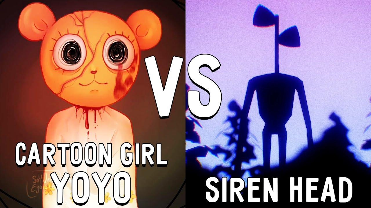 МУЛЬТЯШНАЯ ДЕВОЧКА ЙОЙО против СИРЕНОГОЛОВОГО в майнкрафт ! Битва SIREN HEAD VS CARTOON GIRL YOYO