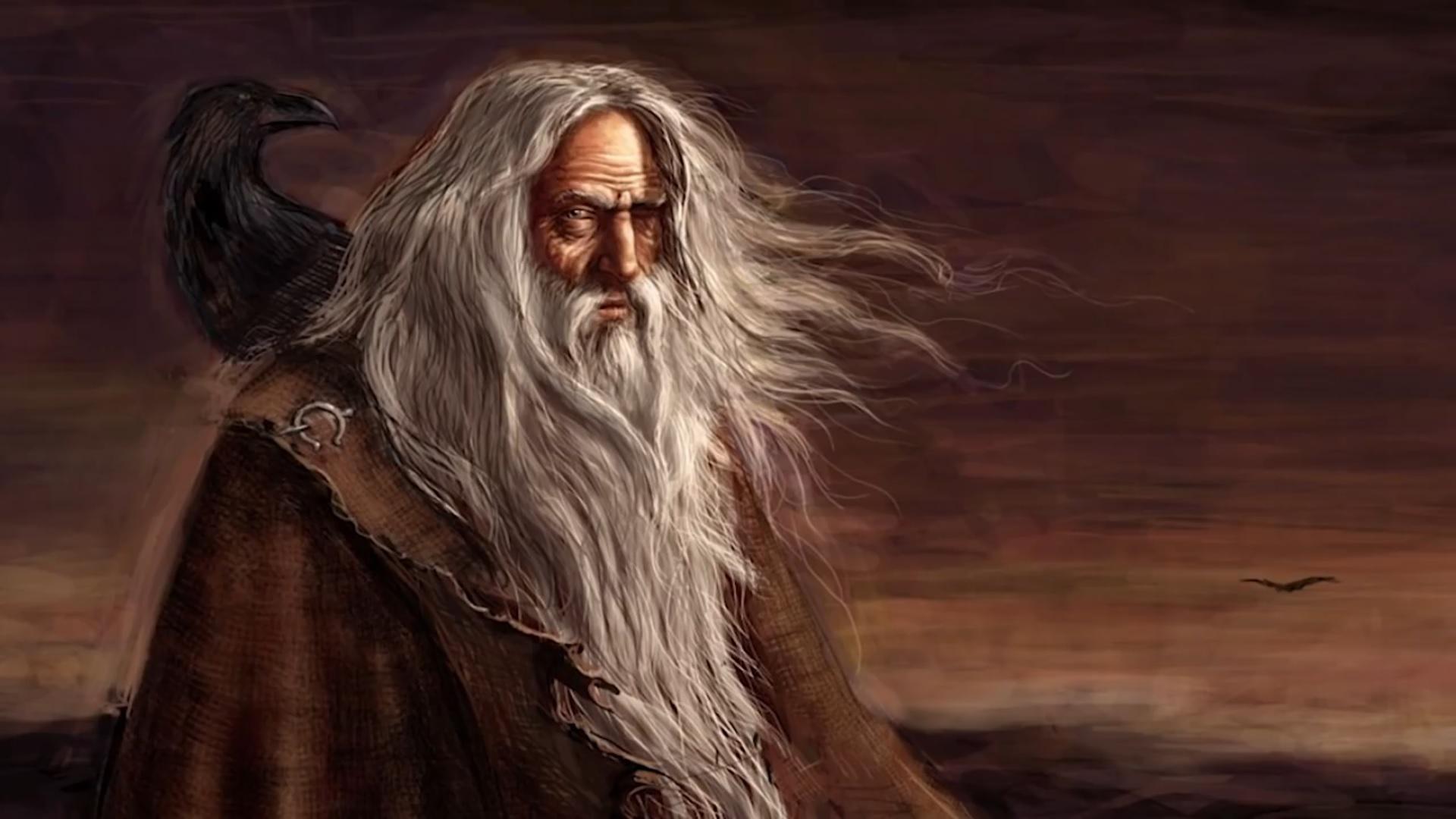 Exploring Norse Mythology: Odin (Изучение скандинавской мифологии: Один)
