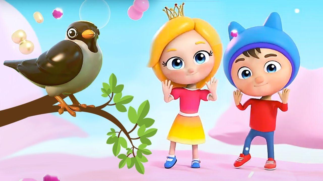 Веселые песенки Сина и Ло - Птички - Песенка мультфильм для малышей
