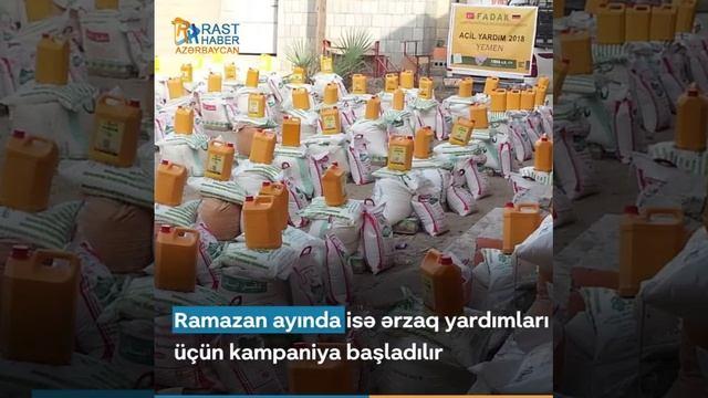 Fədək Humanitar Yardım Təşkilatı Yəməndə çörək zavodu açır