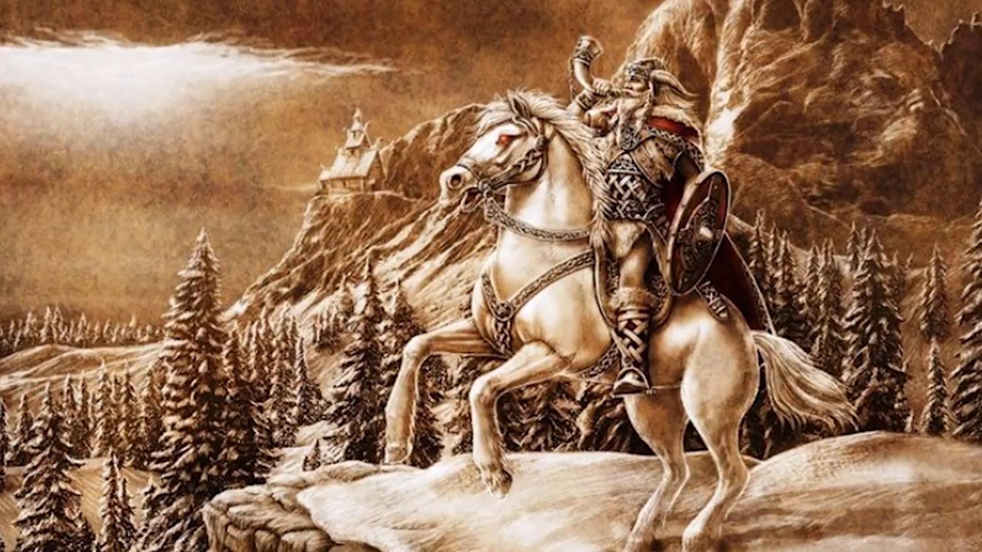 Exploring Norse Mythology: Heimdall the Watcher (Хеймдалль Смотритель)