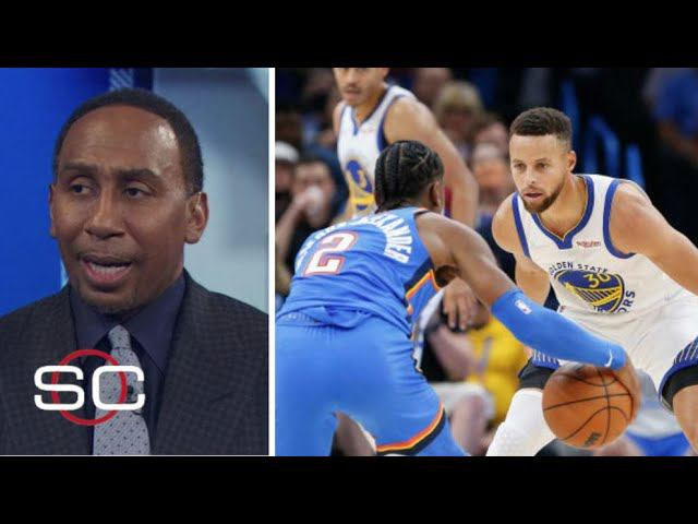 ESPN react to Steph Curry scores 23, Warriors beat Thunder 106-98 to remain unbeaten