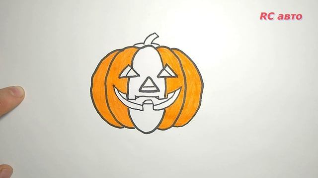 Как нарисовать хэллоуин / how to draw a halloween / рисунки для срисовки