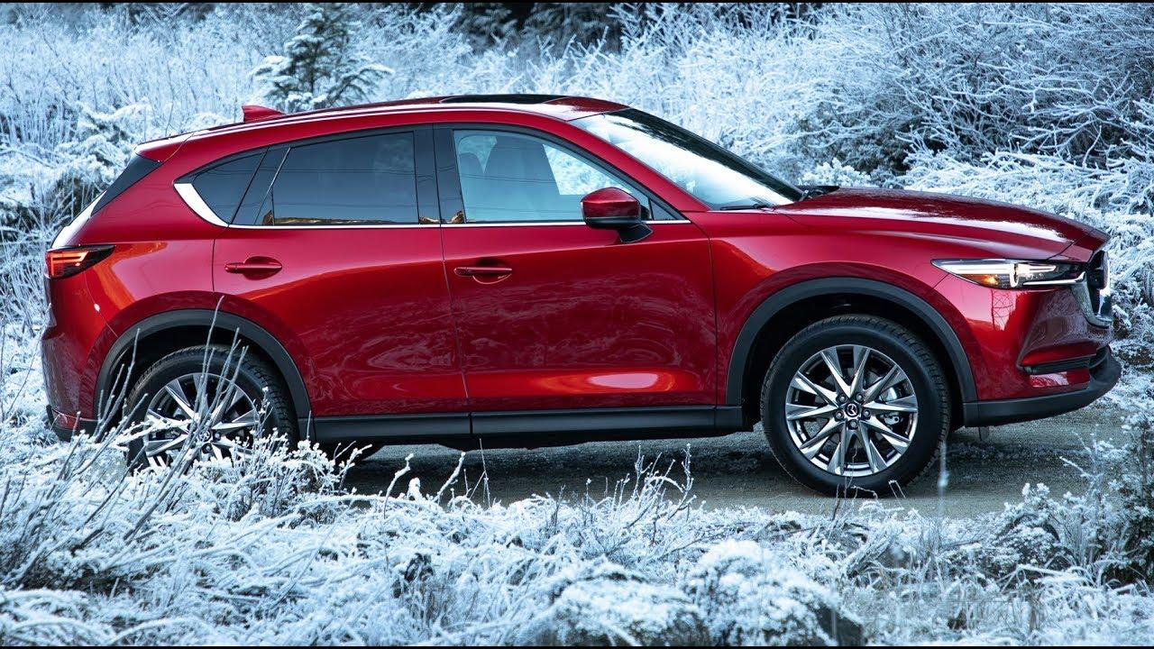 Mazda CX-5 Signature 2019 года - вождение по снегу, дизайн и интерьер.