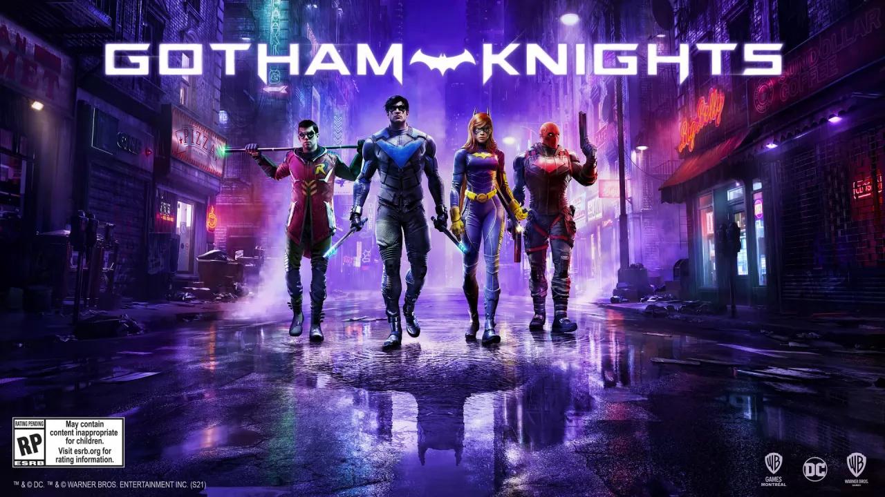 Рыцари Готэма / Gotham Knights (2022) Русский трейлер #2