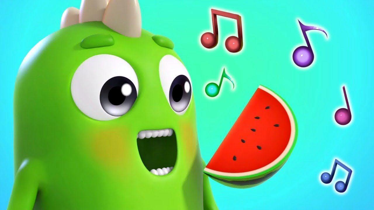 Детские песенки Сины и Ло -  Фрукты. Музыкальный мультик для детей