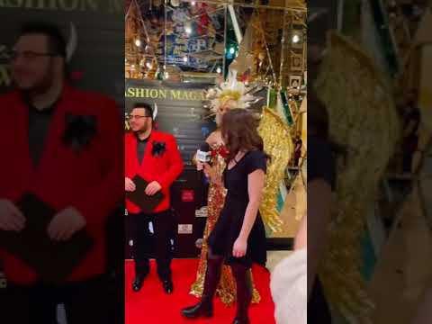 """Анна Калашникова и Дмитрий Писарев ведущие """"World Fashion Magazine Awards 2021"""" #shorts"""