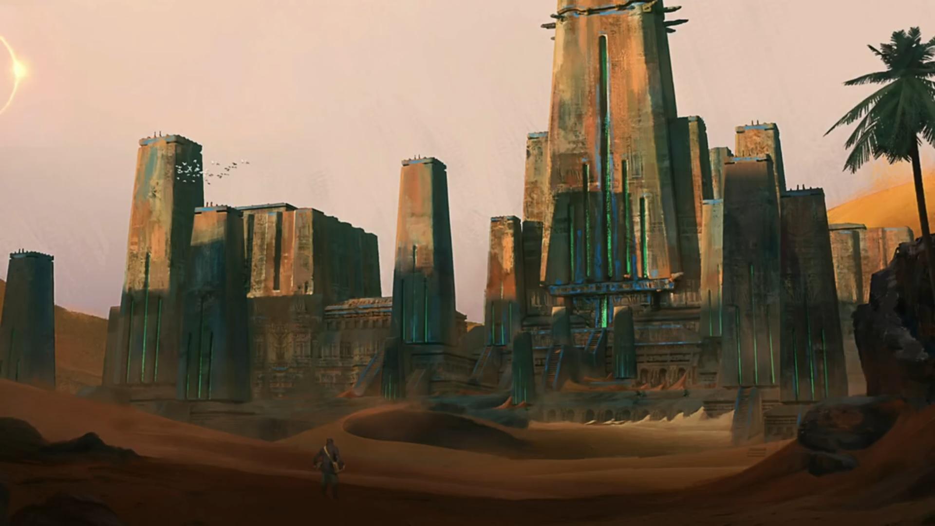 The Nameless City by H.P. Lovecraft (Безымянный город Х. Лавкрафт (аудиокнига))