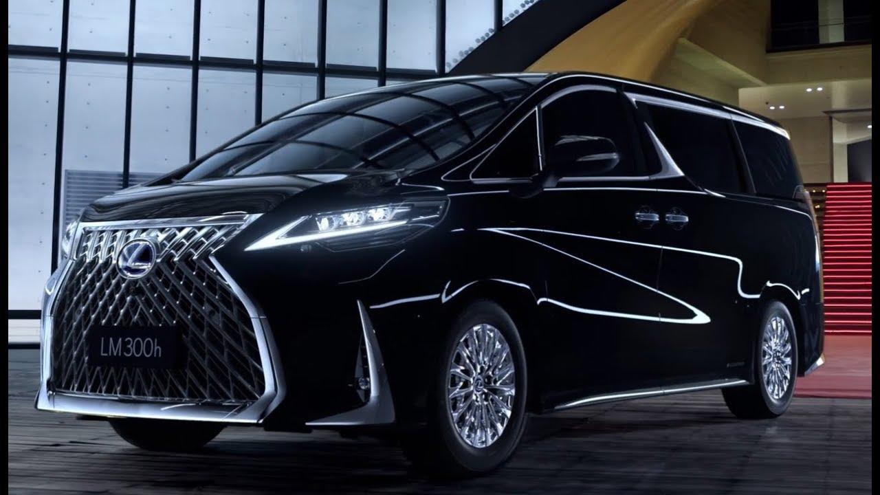 Lexus LM 2020 - роскошный минивэн.