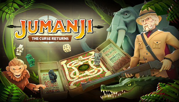 JUMANJI: The Curse Returns - Gameplay Trailer - ПК - PC - Steam - Nintendo Switch - iOS - Android