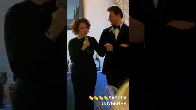 Лариса Голубкина на празднике