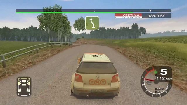 Colin McRae Rally 2005 _ Карьера _ серия 2 _ 2WD Gold series _ VW Polo _ 2 гонка