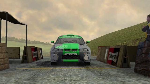 Colin McRae Rally 2005 _ Карьера _ серия 7 _ 2WD Gold series _ Суперкубок _ MG ZR _ 1 гонка