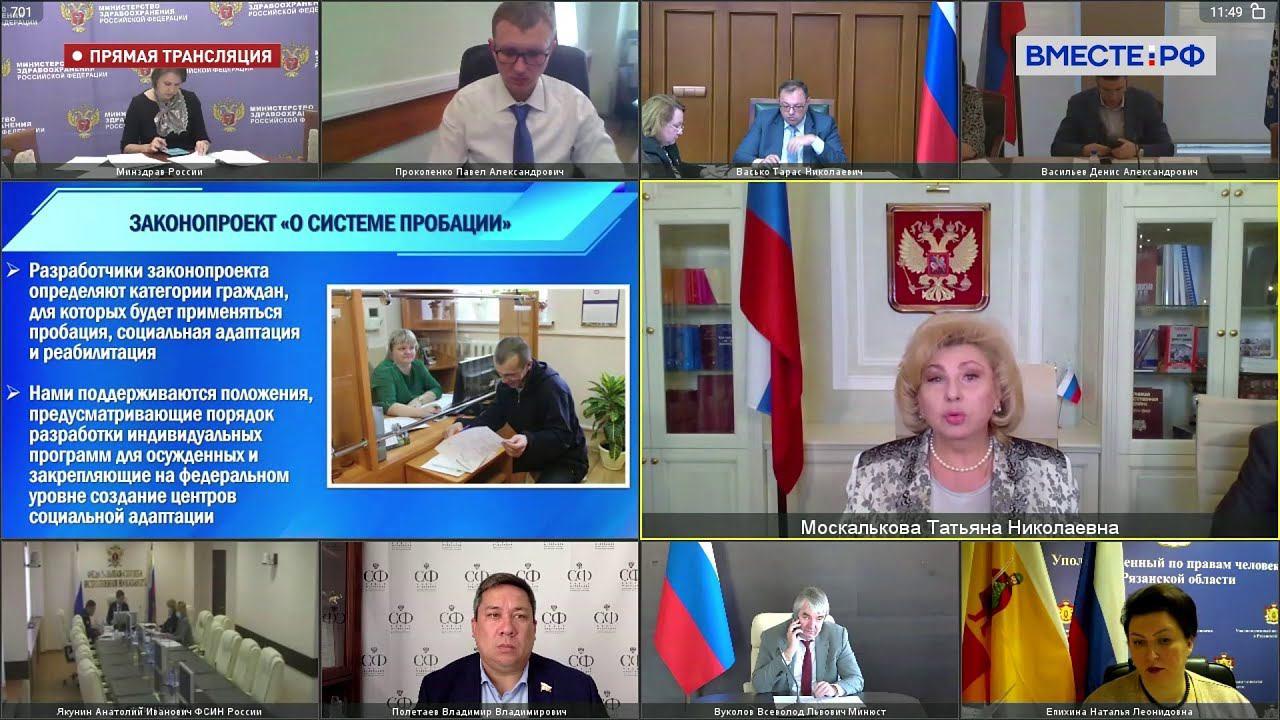 Совещание Комитета СФ по соцполитике с Уполномоченным по правам человека в РФ. Запись 25.10.21