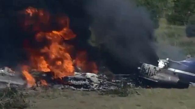 В Техасе рухнул самолет с 21 пассажирами на борту. Вы удивитесь, но все остались живы...