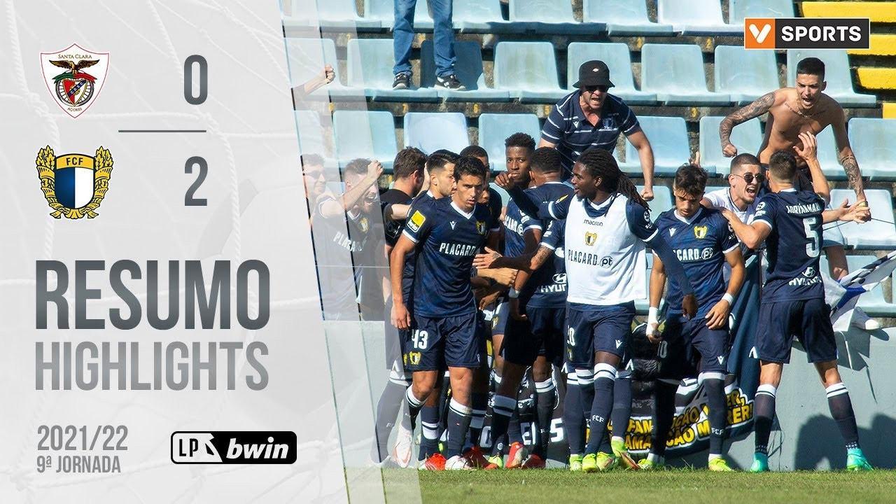 Highlights: Santa Clara 0-2 Famalicão (Liga 21/22 #9)