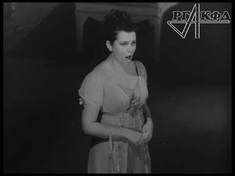 Галина Вишневская поет в Большом театре (1966 г.)