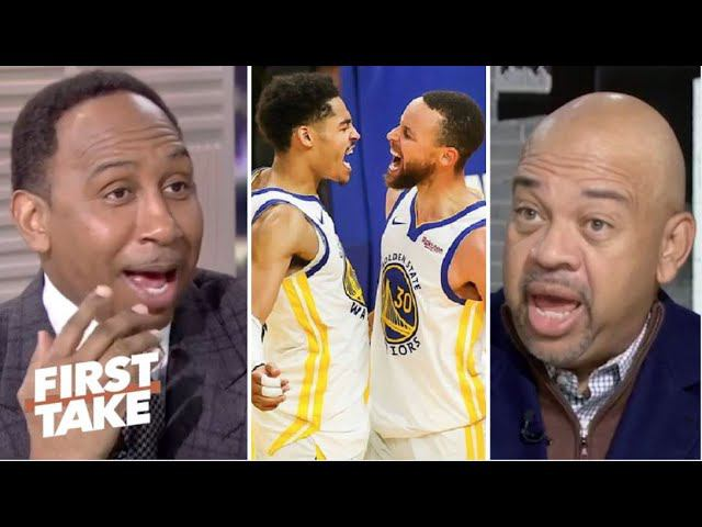 FIRST TAKE   Stephen A. RIPS Wilbon And Says Steph Curry Will Leads Warriors Beat Lakers Tonight
