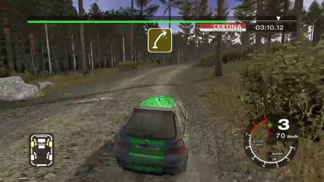 Colin McRae Rally 2005 _ Карьера _ серия 8 _ 2WD Gold series _ Суперкубок _ MG ZR _ 2 гонка
