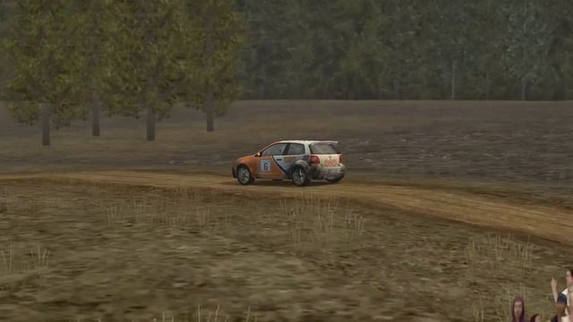 Colin McRae Rally 2005 _ Карьера _ серия 6 _ 2WD Gold series _ VW Polo _ 6 гонка