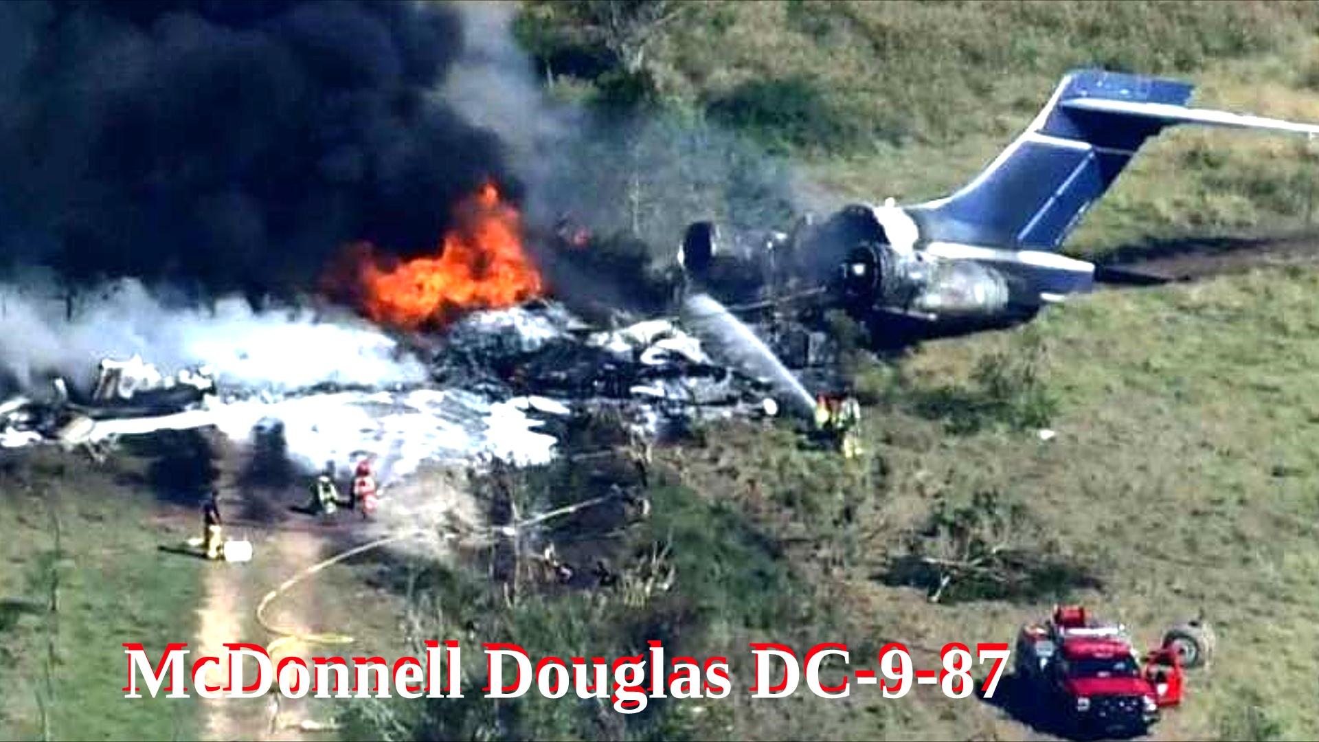 Крушение самолета McDonnell Douglas DC-9 в США.mp4