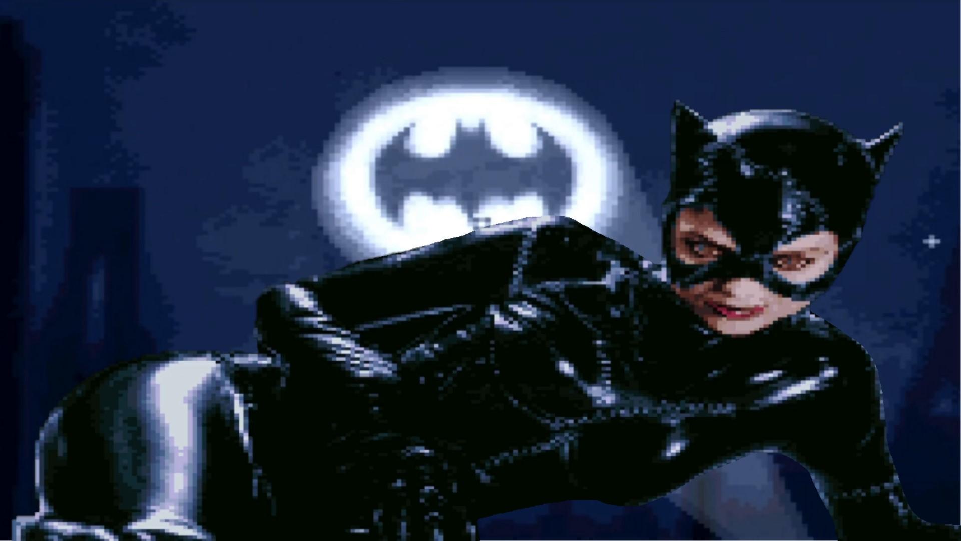 [SNES] Batman Returns [Появление Женщины-кошки / Все Боссы]