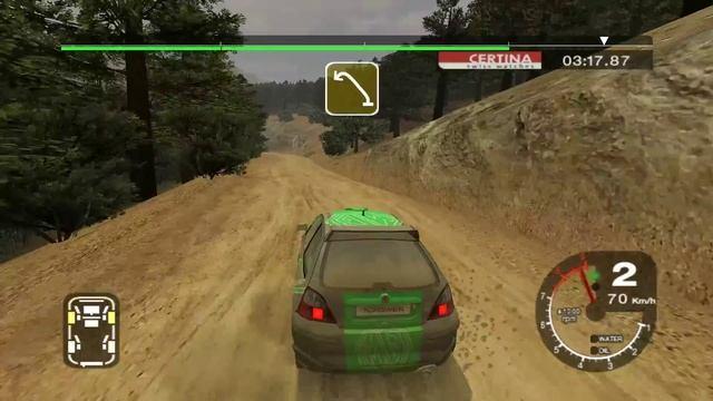 Colin McRae Rally 2005 _ Карьера _ серия 11 _ 2WD Gold series _ Суперкубок _ MG ZR _ 5 гонка