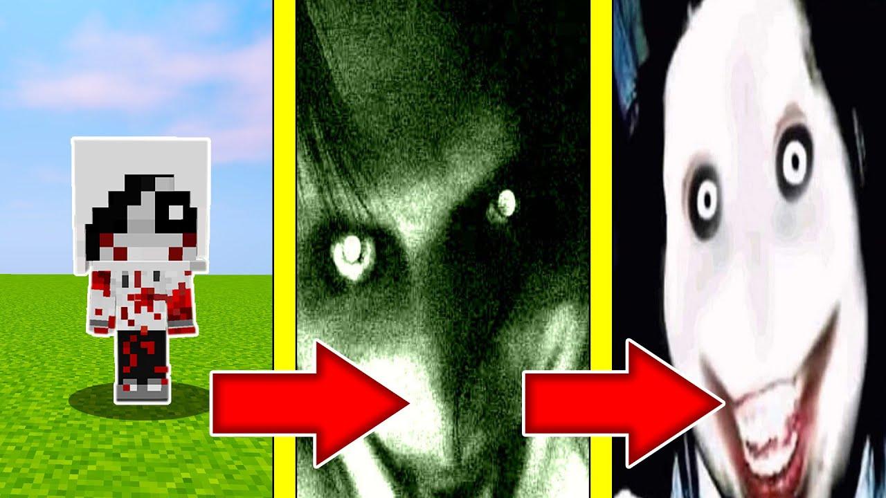 Как менялся ДЖЕФФ УБИЙЦА и его жизненный цикл в майнкрафт ! Эволюция JEFF THE KILLER MINECRAFT