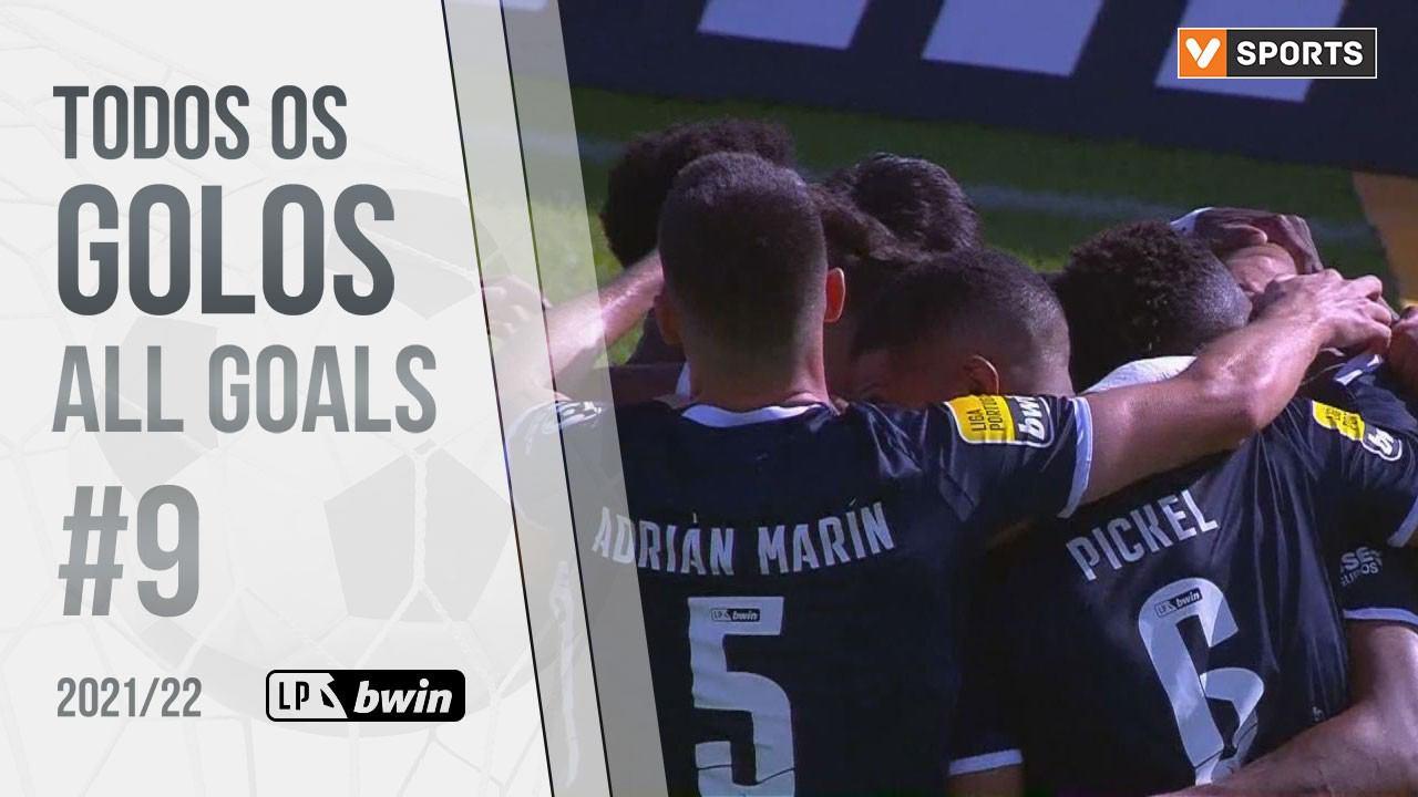 All goals of the round #9 (Liga 21/22)