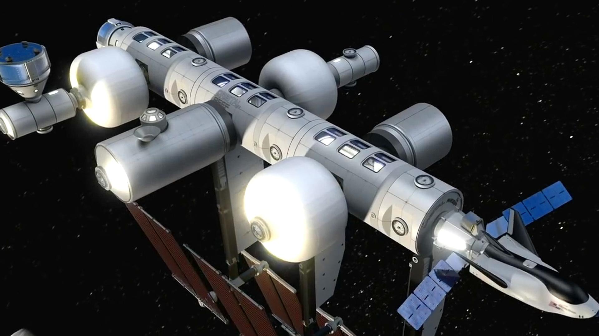Новая космическая станция Orbital Reef от Blue Origin.mp4