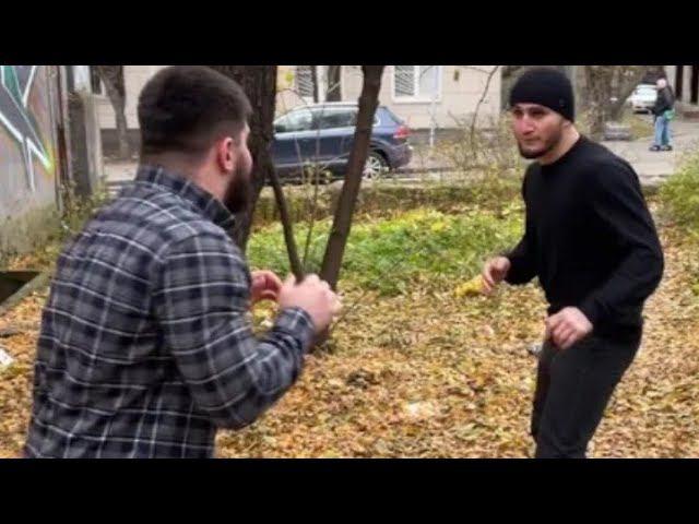 Бой Асхаб vs Эмиль Наврузов. Полное видео. Как все было на самом деле