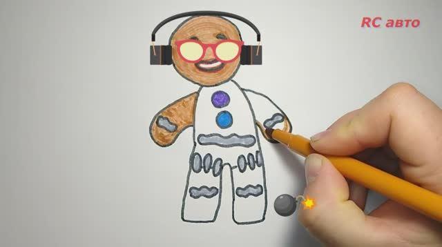 Как нарисовать печеньку _ how to draw Draw a biscuits_ рисунки для срисовки
