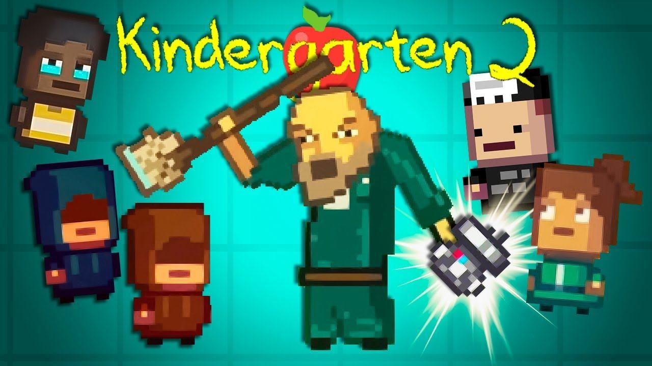 А ЛОВКО ВЫ ЭТО ПРИДУМАЛИ! ► Kindergarten 2 #7 Прохождение