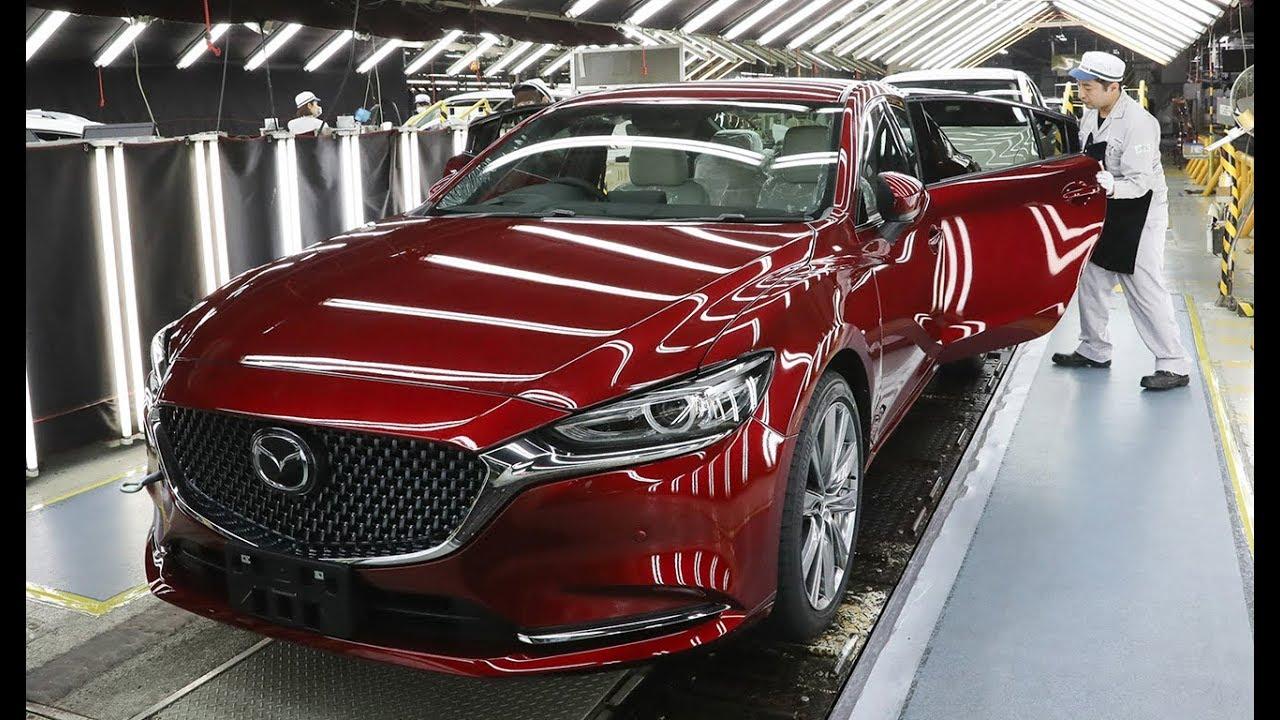 Mazda 6 Производство - Завод Хофу - Япония.