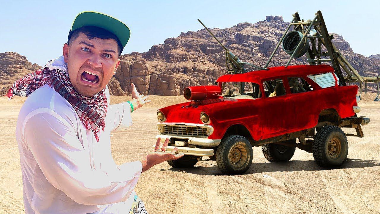 Купили на аукционе автомобиль за 90 тысяч, а он оказался в пустыне!