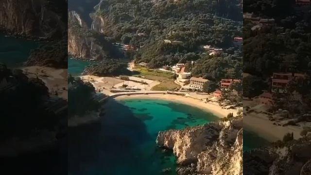 Остров Корфу (Керкира)в Ионическом море, Греция