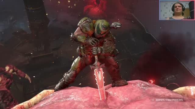 Doom II Eternal Сделай мне больно #15: Икона греха.mkv