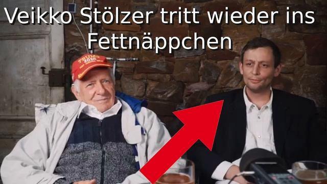 Veikko Stölzer tritt wieder ins Fettnäppchen