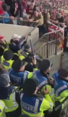 Венгерские болельщики просят английскую полицию не мешать смотреть футбол