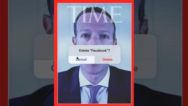 Time поместил на обложку портрет Цукерберга с предложением удалить Facebook
